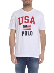 POLO Ralph Lauren - USA Polo T-shirt in white