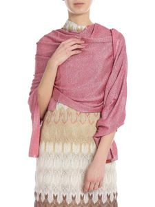 Missoni - Pink viscose knitted stole