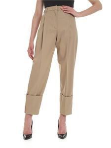 Hilfiger Collection - Cuffed trousers in beige