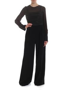 Max Mara - Classy Suit in black with pleats