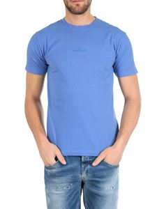 Stone Island - Graphic Seven T-shirt in light blue