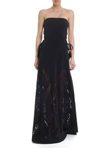 4giveness - Dress in black with openwork details