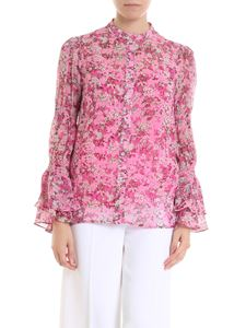 Michael Kors - Pink shirt with floral print