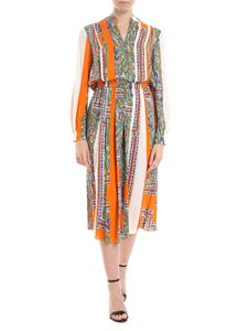 Tory Burch - Patchwork multicolor long dress