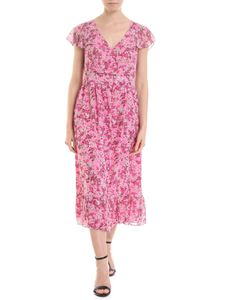 Michael Kors - Pink dress with floral motif