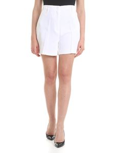 Michael Kors - Woven fabric shorts in white
