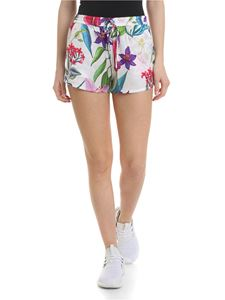 MC2 Saint Barth - Floral shorts in white