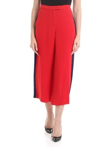 Michael Kors - Crop trousers in red