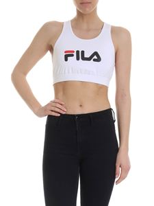 Fila - Other top in white with logo print
