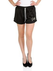 Gaelle Paris - Shorts Gaelle neri con coulisse