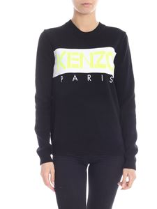 Kenzo - Pullover in black with Kenzo Paris Jumper logo