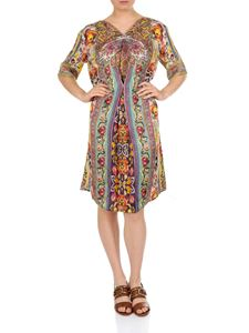 Etro - Paisley printed multicolor dress