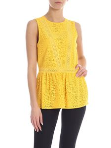 Michael Kors - Lace top in yellow