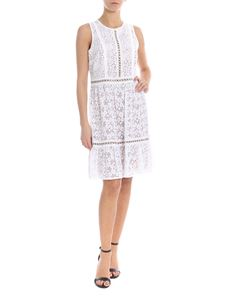 Michael Kors - Sleeveless dress in white lace