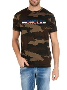 Moncler - Moncler printed camouflage t-shirt
