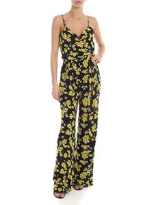 Michael Kors - Black jumpsuit with flower print
