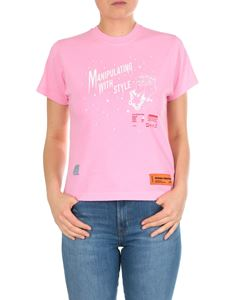 Heron Preston - Manipulating With Style T-shirt in pink