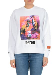 Heron Preston - Heron Birds sweatshirt in white