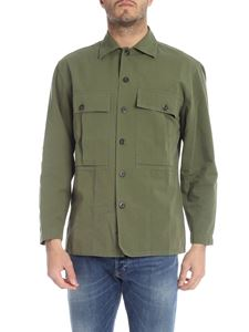 Bagutta - Arizona shirt in military green