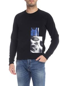Dsquared2 - Black sweatshirt with Mert and Marcus 1994 print