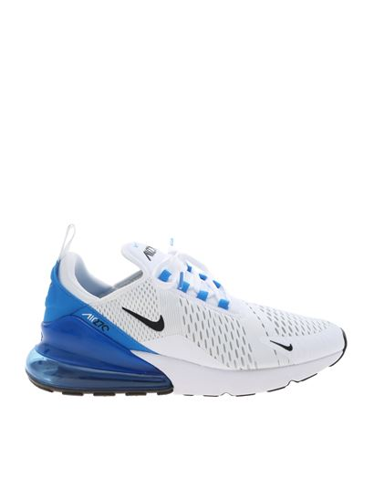 sports shoes 07868 170fa Nike Carrie Over air max 270 sneakers in white and blue ...