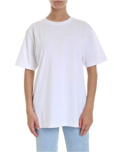 Marcelo Burlon - Neon Wings crew-neck T-shirt in white