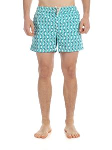 RIPA RIPA - Eclissi boxer swimsuit in light blue