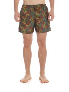 Missoni - Boxer swimsuit in military green