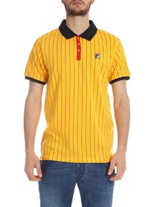 Fila - BB1 Classic Vintage polo in yellow and black