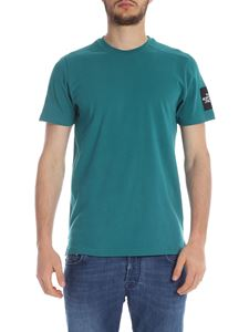 The North Face - Teal green T-shirt with logo