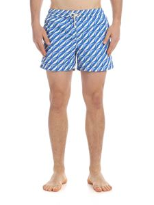 RIPA RIPA - Sorrento boxer swimsuit in blue