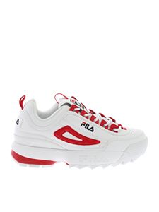 Fila - Sneakers Disruptor Cb Low Wmn in white and red
