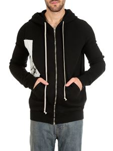 Rick Owens DRKSHDW  - Jason S Tatlin Tower hoodie in black