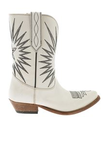 Golden Goose - Wish Star boots in white