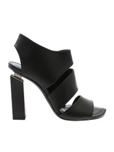 Vic Matiè - Sandals in black with bands
