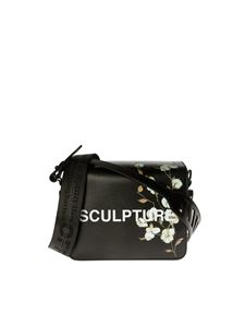 Off-White - Diag Flap shoulder bag in black
