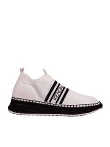 Kendall + Kylie - Jake sneaker in white with rope sole