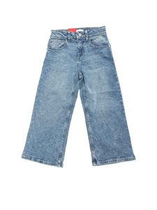 Levi's - Cotton flared jeans in light blue