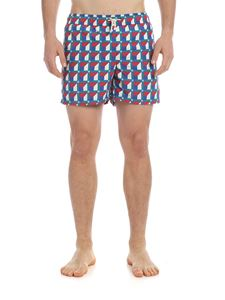 RIPA RIPA - Lerici multicolor boxer swimsuit