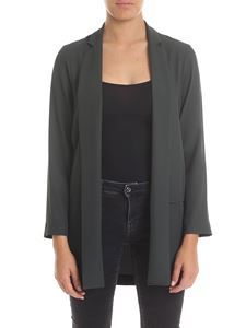 Ottod'Ame - Jacket in green flowing fabric