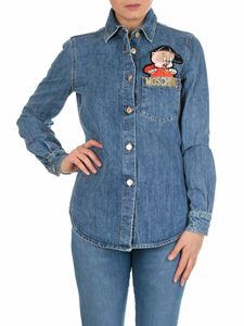 Moschino - Porky Pig Looney Tunes denim shirt