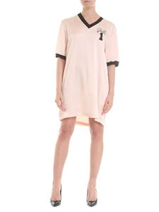 Gaelle Paris - Short dress in pink with jewel effect detail