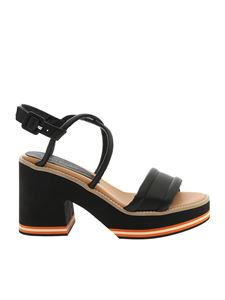 Paloma Barceló - Eri sandals in black nappa