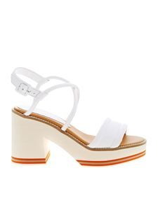 Paloma Barceló - Eri sandals in white leather
