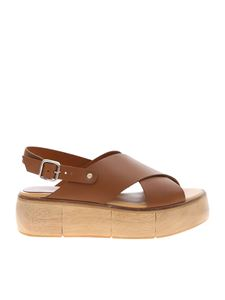 Paloma Barceló - Isamu sandals in brown