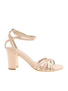 Guess - Sandals in powder pink leather