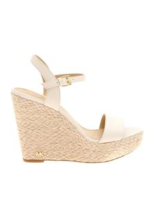 Michael Kors - Jill wedges in ivory color