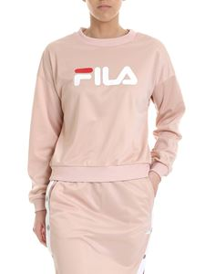 Fila - Justyna sweatshirt in pink with logo print