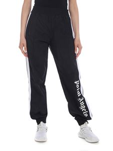 Palm Angels - Pantalone Over Logo nero