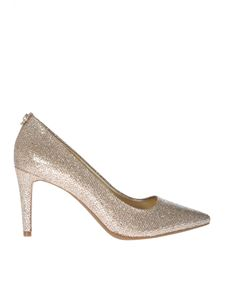 Michael Kors - Dorothy pumps in silver and beige